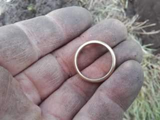 Martin van de Bosch en gouden ring