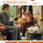 """Voorpagina van het nieuwe veelbelovende tijdschrift """"Archeologie van Nederland"""""""