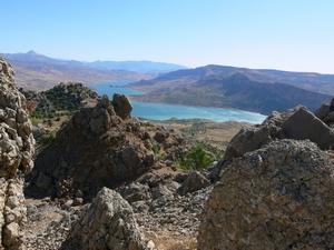 Tijdens de klim naar Gerger Kalesi, krijgt u een prachtige blik op de Euphraat.