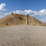 Karakuş, het grafmonument voor de vrouwen van Kommagene. Opgericht door Mithradates II, opvolger als koning van Kommagene van Antiochos I