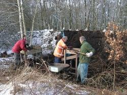 Amateur archeologen graven op in de gemeente Westerveld.