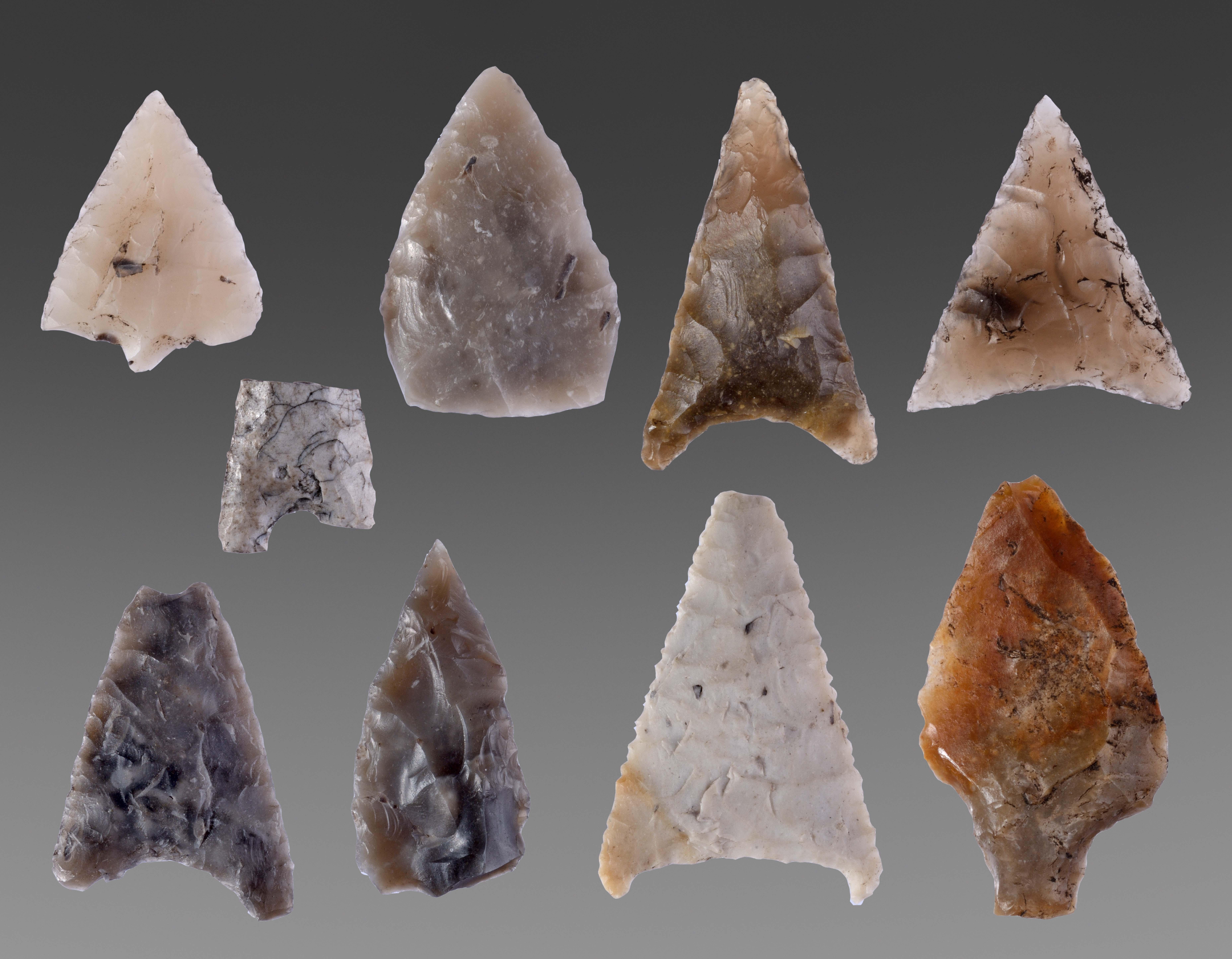 neolithische spitsen Vledder Aa en hun verhalen